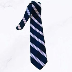 Brooks Brothers Makers Navy Striped Tie